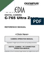 Olimpus c760 Manual