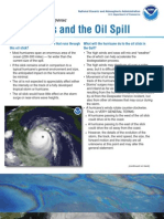 Hurricanes Oil Factsheet
