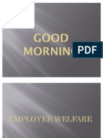 Employee Welfare ,