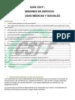 Guía CSIF Comisiones de Servicios Medico Sociales