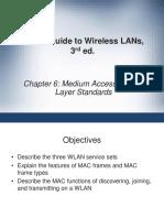 Ch06 MAC Layer Standards