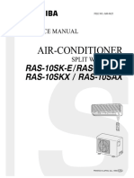 Toshiba Air Conditioner Service Manual
