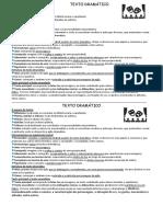 Texto Dramático - Ficha Informativa