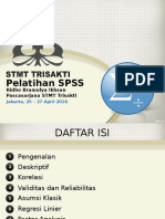 Pelatihan SPSS