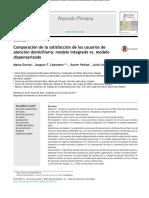 Publicacion Estudio en APS en EspanŞa