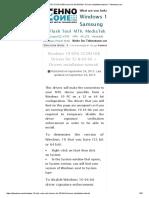 Windows 10 MTK VCOM USB Drivers for 32 & 64 bit + Drivers installation tutorial – Tehnotone