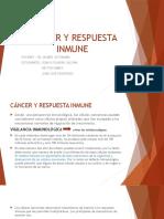 Cáncer y Respuesta Inmune Power Point
