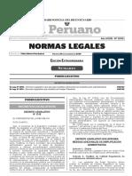 Decreto Legislativo N° 1310
