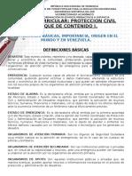 Recurso 1_definicio,Importancia y Origen de Proteccion Civil