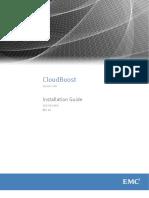Docu62192 CloudBoost 100 Installation and Setup Guide