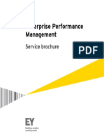 Ey Enterprise Performance Management Service Brochure