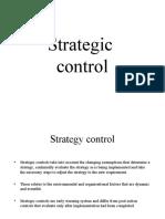 Strategic Control