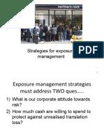 Strategies for Exposure