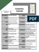 Fabric Technical Sheet
