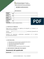 Formato Informe Analisis Ecopsicologico