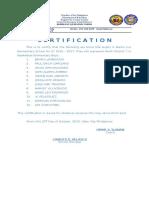 Certification Als