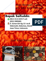 0812-3113-659 (T-sel) Produsen Kopi Rempah, Grosir Kopi Rempah, Toko Kopi Rempah