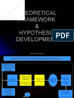 Lesson No 4 - Theoretical Framework & Hypothesis Development