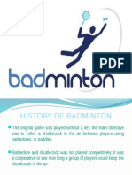 BADMINTON Corporation