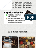 0812-3113-659 (T-sel) Kopi Bubuk Rempah Surabaya, Bahan Kopi Rempah Surabaya, Bisnis Kopi Rempah Surabaya