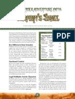 Serpent's Skull PFS Chronicle Sheets