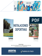 Instalaciones Deportivas (Baja)