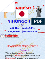JAPANESE 1 FIRST MEETING-1.ppt