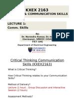 Critical Thinking Communication Skills