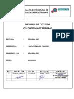 Memoria de Cálculo - Plataforma de Trabajo Chutes de Transferencia COMPLETA Y FIRMADA-COMPRIMIDO