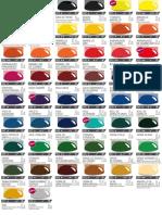 Carta Colores Oleos