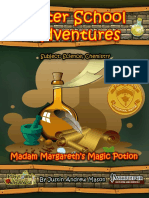 Margareth's Magic Potion