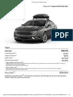 Ford Fusion 2017_ Diseña y Cotiza
