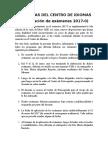 Directivas Del Centro de Idiomas