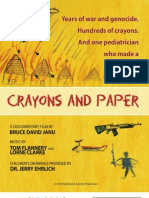 Crayons and Paper Onesheet