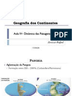 Aula v - Dinâmica das paisagens (Mezozoico)