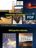 Aula 1 - Introdução à Geologia