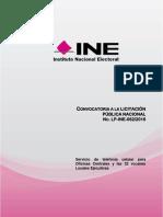 Licitación del INE de telefonía celular