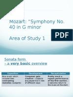Mozart Symphony 40 Aos 1 2