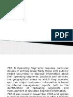 Ifrs-8 Operating Segments