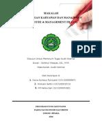 Kelompok 9 Kecurangan Karyawan Dan Manajemen