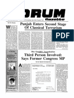 The Forum Gazette Vol. 3 No, 22 November 20-December 4, 1988