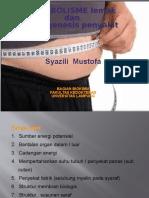 Metabolisme Lemak Dan Patogenesa Penyakit by Dr.zili