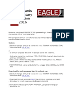 Eagle Awards Documentary Competition 2016