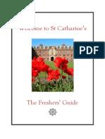St Catharine's Freshers' Guide 2016