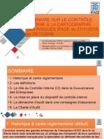Seminaire Sur Le Contrôle Interne & La Cartographie Ver01
