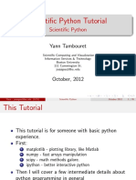 Python Scientific Slides (Boston University)
