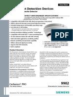 2) OP921 - Optical Smoke Detector - Siemens