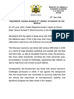 Ghana Forbes response