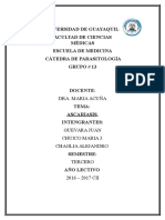 Ascariasis - parasitologia