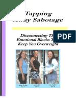 Tapping Away Sabotage Booklet